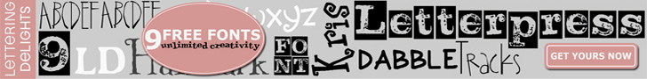 9 Free Fonts