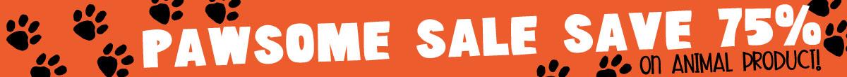 Pawsome Sale