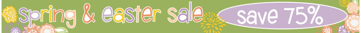 Spring and Easter Sale
