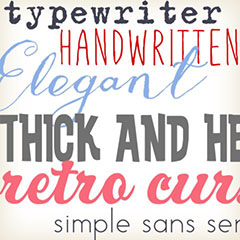 See our fonts!