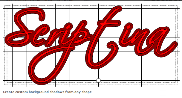 offset to create shadows