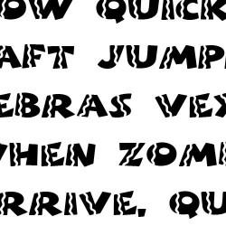 Scrap Sombrero - Font