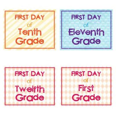 First Day Signs - PR