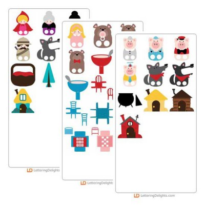 Fairy Tale Finger Puppets Bundle