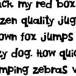 LD Hipsters - Font
