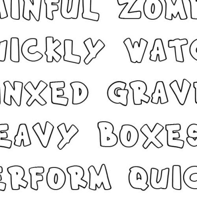 Scrap Tubby - Font
