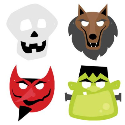 Spooky Soiree - Masks - CS