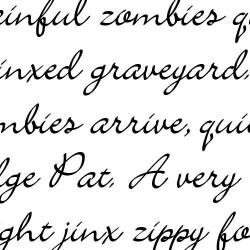 Scrap Calligraphy - Font