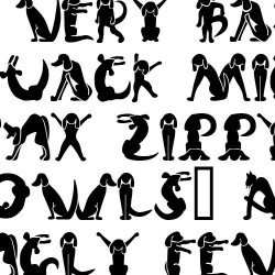 Scrap Cat 'n' Dog - Font