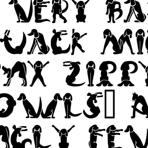 scrap cat n dog   font