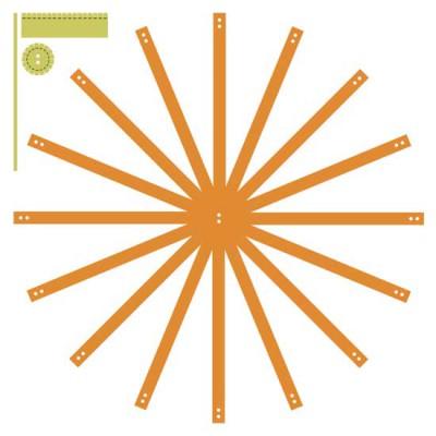 3D Threaded Pumpkin - CS