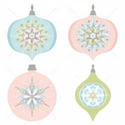 Holiday Frosting - Ornaments - GS