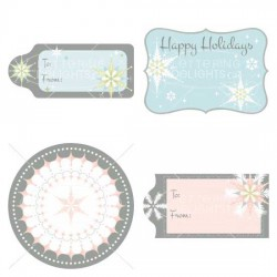 Holiday Frosting - Labels - GS