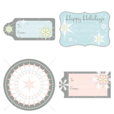 Holiday Frosting - Labels - PC