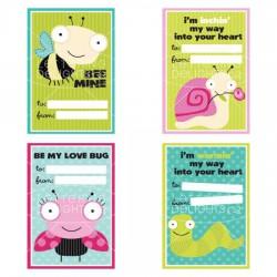 Bugaboo Valentine Cards - PR