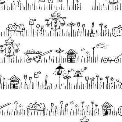 Scrap Garden - Font