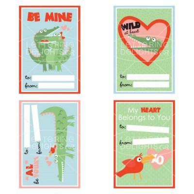 Love Bites Valentine Cards - PR