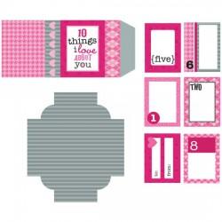 10 Things Matchbox Mini Cards - PC