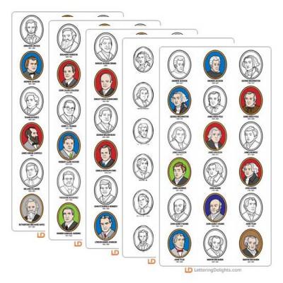 U.S. Presidents - Clip Art Set