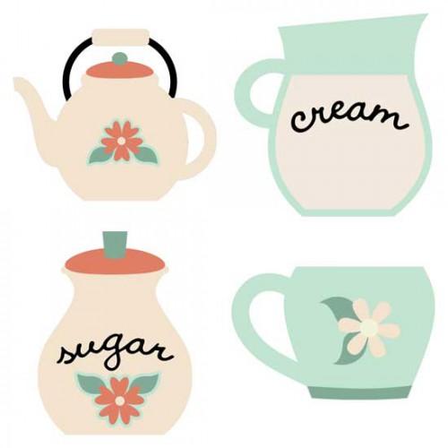 tea party time - photo #10