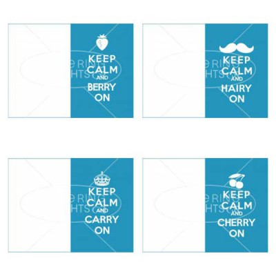 Keep Calm Cards - PR