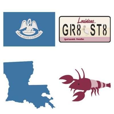 Louisiana Pelican State - CS