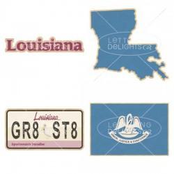 Louisiana Pelican State - GS
