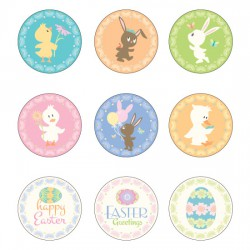 Sweet Peeps - Cupcake Toppers - PC