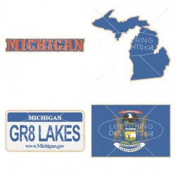Michigan Great Lakes State - GS