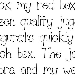 Scrap Hearts - Font