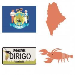 Maine Pine Tree State - CS