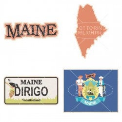 Maine Pine Tree State - GS