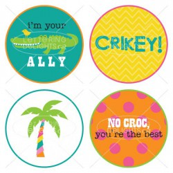I'm Your Ally Cupcake Toppers - PR