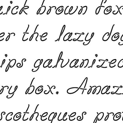 Scrap Loop - Font
