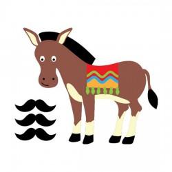Pin the Mustache on the Donkey - CS
