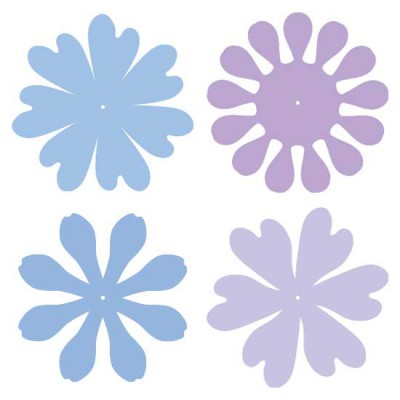Cut Flower - Swirls - CP