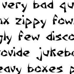 Scrap Samurai - Font