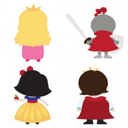 Happily Ever After Backs - CS