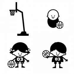 Basketball Stringbeans - SS