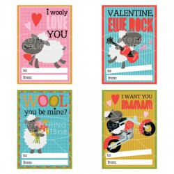 Sheep Shape Valentines - PR