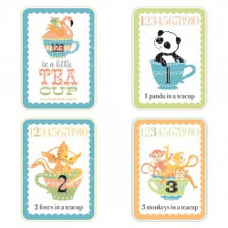 Little Teacups - Number Cards - Boy - GS