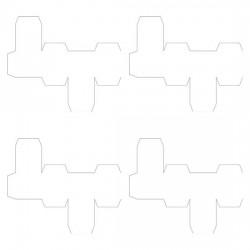 Little Teacups - Alphabet Blocks - Girl - PC