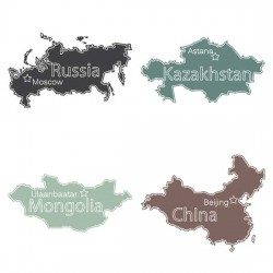 Asian And Oceanic Countries - SS