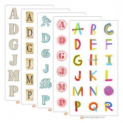 Back to Basics Alphabets Bundle