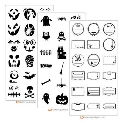 Halloween Doodlebat Bundle