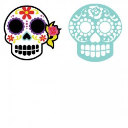 Sugar Skull - Masks - CP