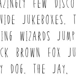 LD Hipster Child - Font