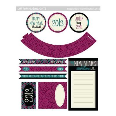 Happy New Years 2013 - PR