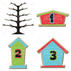 Seasons Tweetings - Christmas Countdown - GS