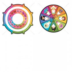 Wee are the World Color Wheel - PR
